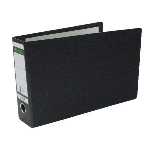 Leitz 180 Oblong Lever Arch File Board A4 Black (Pack of 4) 310690095 - LZ1074