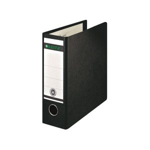 Leitz 180 Upright Lever Arch File Board A5 Black (Pack of 5) 310700095 - LZ1075