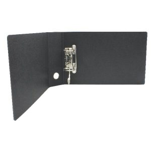 Leitz 180 Oblong Lever Arch File Board A5 Black (Pack of 5) 310710095 - LZ1076