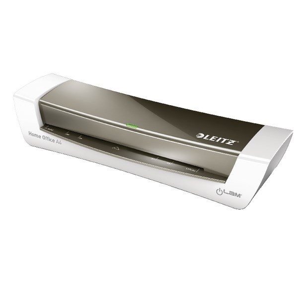 Leitz iLAM Home Office Laminator A4 Dark Grey 73681089 - LZ11300