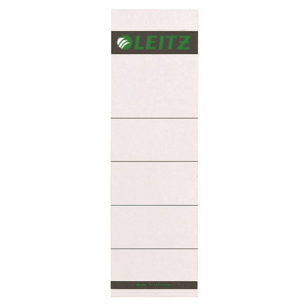 Leitz Self Adhesive Lever Arch Spine Labels (Pack of 10) 16420085 - LZ164285