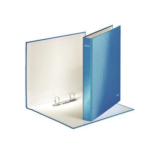 Leitz Wow 2 D-Ring Binder 25mm A4 Plus Blue (Pack of 10) 42410036 - LZ32872