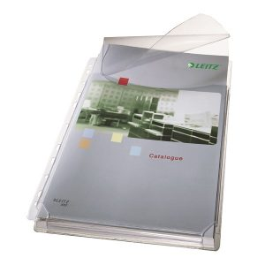 Leitz Expanding Pocket With Flap A4 Clear (Pack of 5) 47573003 - LZ36321