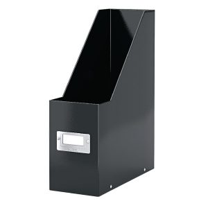 Leitz Click & Store Magazine File Black (Back and front label holder for easy indexing) 60470095 - LZ39686
