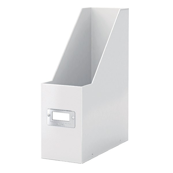 Leitz Click & Store Magazine File White (Back and front label holder for easy indexing) 60470001 - LZ39687