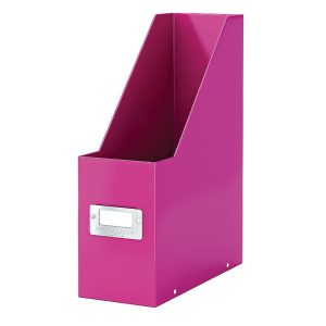 Leitz Click & Store Magazine File Pink (103mm spine whitch is laminiated for lasting use) 60470023 - LZ39816
