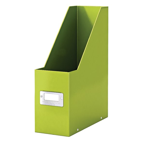 Leitz Click & Store Magazine File Green (Back and front label holder for easy indexing) 60470064 - LZ39817