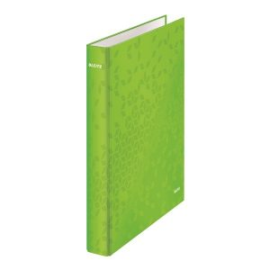 Leitz WOW Ring Binder A4 25mm Green (Pack of 10) 42410054 - LZ59985