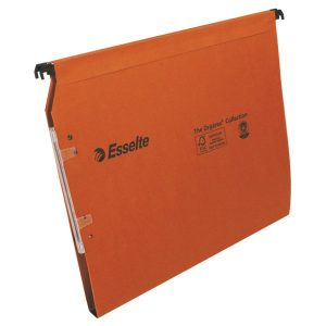 Esselte Orgarex 15mm Lateral File A4 Orange (Pack of 25) 21628 - ES21628