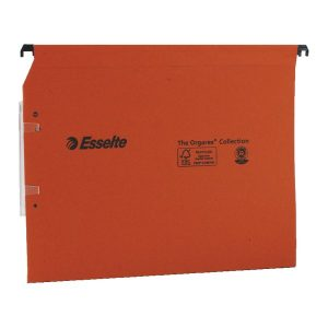Esselte Orgarex 30mm Lateral File A4 Orange (Pack of 25) 21629 - ES21629