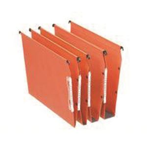 Esselte Orgarex 50mm Lateral File A4 Orange (Pack of 25) 21630 - ES21630