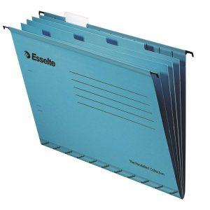 Esselte Classic Blue Foolscap Suspension File Divider (Pack of 10) 93135 - ES12216