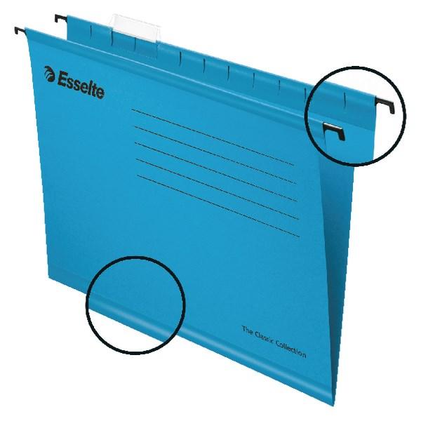Esselte Classic A4 Blue Suspension File (Pack of 25) 90311 - ES90311