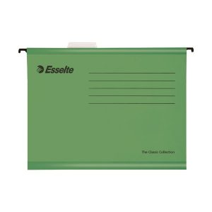Esselte Classic A4 Green Suspension File (Pack of 25) 90318 - ES90318
