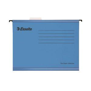 Esselte Classic Foolscap Blue Suspension File (Pack of 25) 9033 - ES90334
